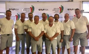 Boland whipped Limpopo 10.5 – 1.5 to pull within striking distance of log leaders Mpumalanga on day three of the SA Senior B Inter-Provincial at Pecanwood Country Club; credit GolfRSA.