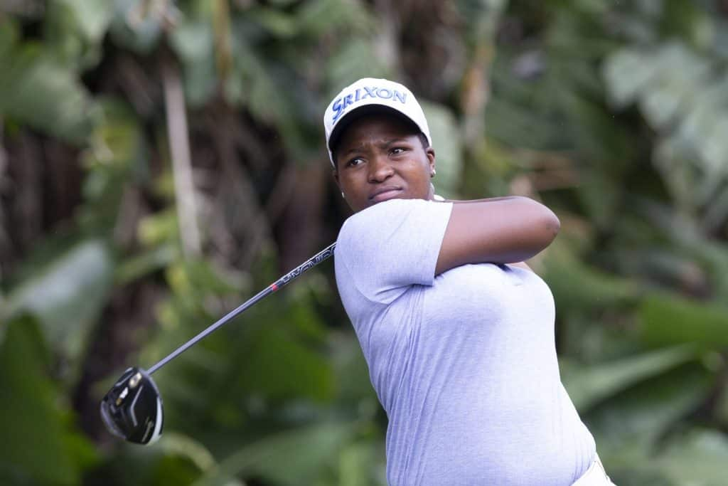 SA number two Zethu Myeki will lead South Africa into battle at the All-Africa Challenge Trophy in Ghana this August; credit Rogan Ward