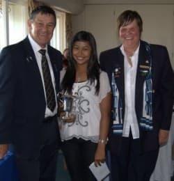 Alister Simmonds, Bilqees Adhakari and Heather Stewart