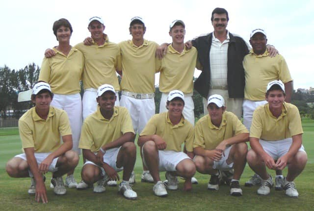 The winning Boland team