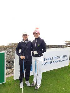 Macnab makes top 16 in Girls British Amateur