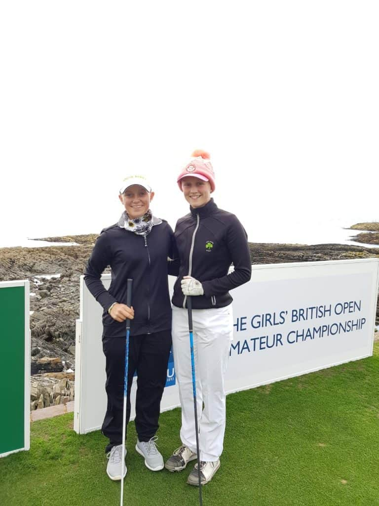 Macnab makes top 16 in Girls British Amateur