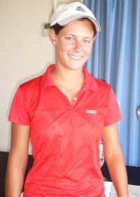 Runner-up Lauren Bekker