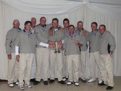 Rustenburg 1st Scratch League Team