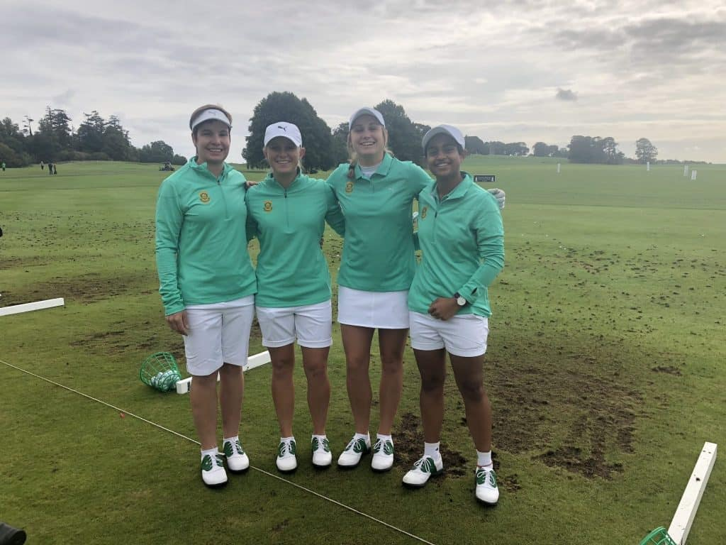 Team SA looking to go low in Ireland