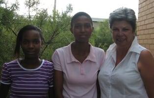 Zanele Mazibuko, Ntsoaki Mokoena and Cynthia Rayner