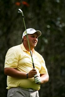 Adrian Ford played superb golf during his singles victory