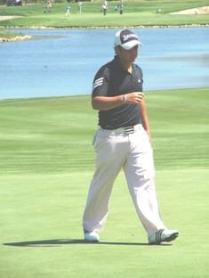 Dean O'Riley, the leading SA player in Sunday's final round