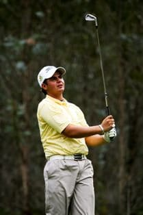 Dean O'Riley, SA's No 1 ranked player finished 3rd in the Foursomes paired with Ferreira