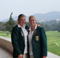 Proud South Africans Kim and Iliska