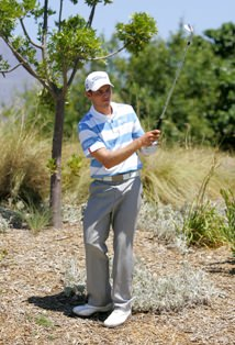 Nicol van Wyk, also opened with a one over par 71