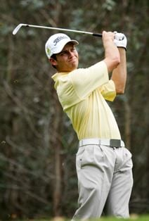 Nicol van Wyk, through to the quarter finals in the New Zealand Amateur Championship