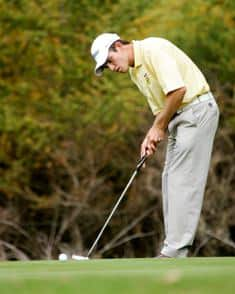 Nicol van Wyk, has New Zealand Stroke Play Championship in his sights