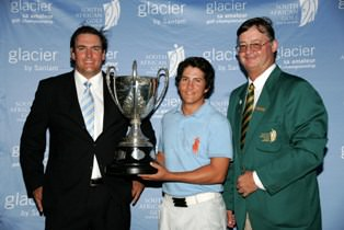Louis Calitz- winner of the Proudfoot Trophy