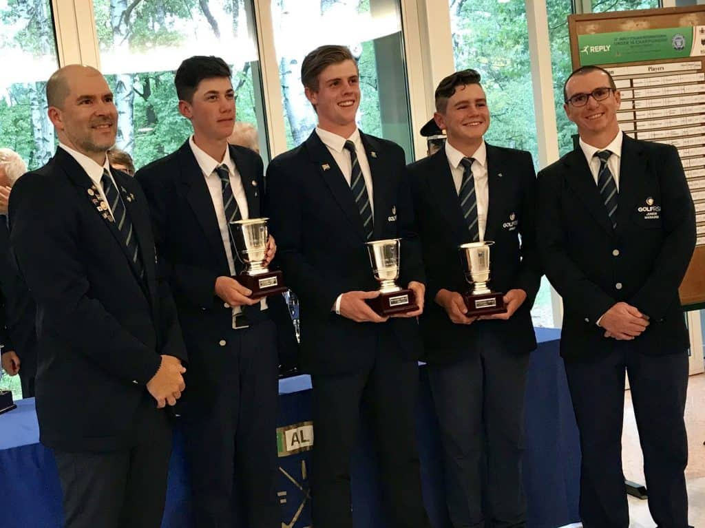 Top marks for SA Juniors in Italy