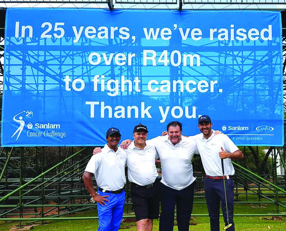 SA golfers open their hearts for CANSA