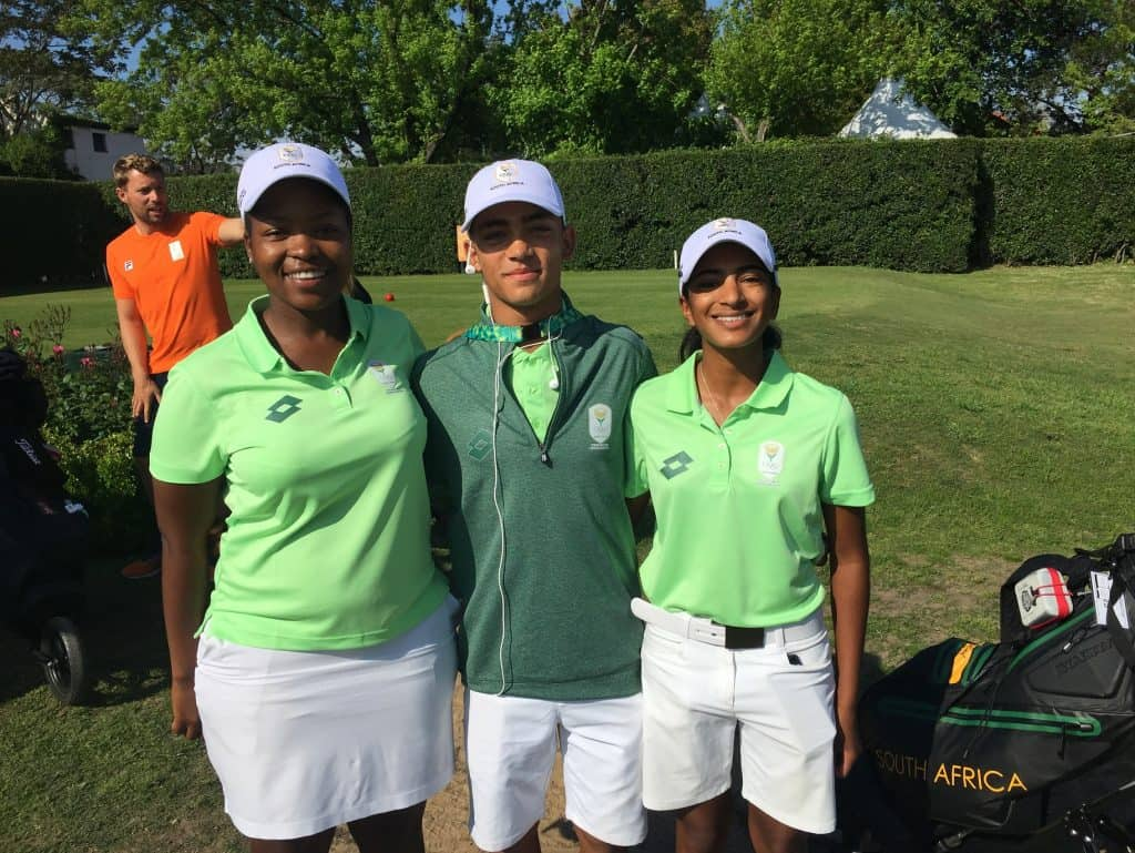 SA Juniors off to solid start in Youth Olympics
