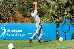 Aspiring Tour pro in hunt for Sanlam Cancer Challenge glory