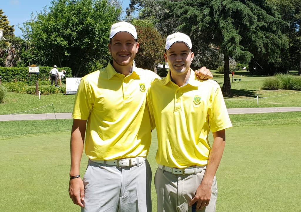 GolfRSA duo delighted with Argentina experience