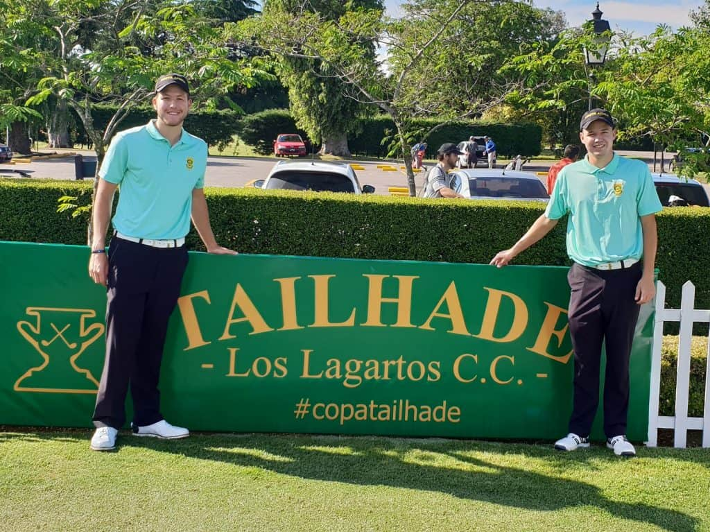 SA duo make modest start in Argentina