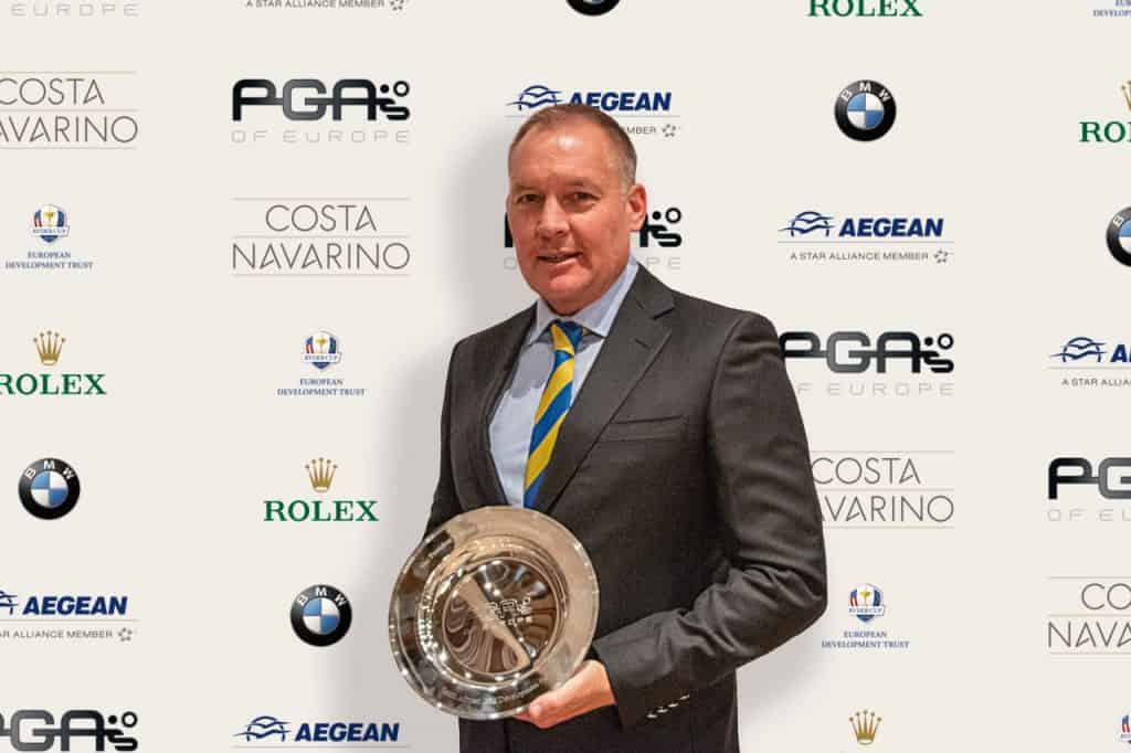 2018 PGAs of Europe - Annual Gala Awards - South African Golf Development Board_Grant Hepburn