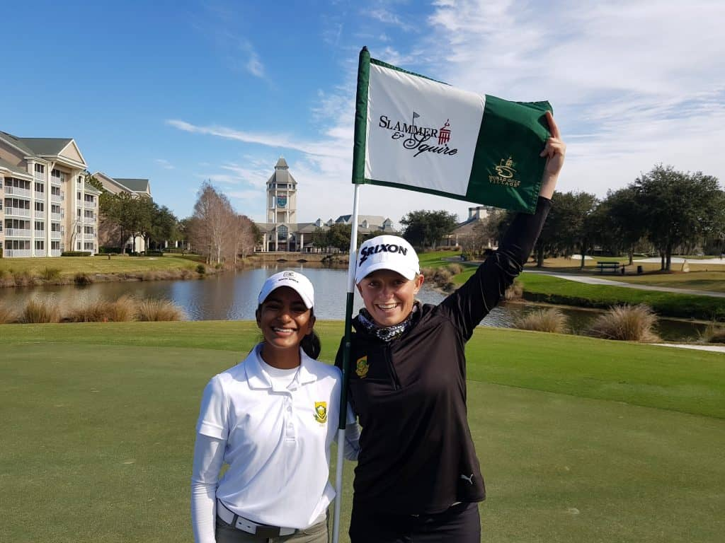 GolfRSA Elite Squad members Kaiyuree Moodley and CaitlynMacnab are set to start today's 1st round of the #AnnikaInvitationalUSA