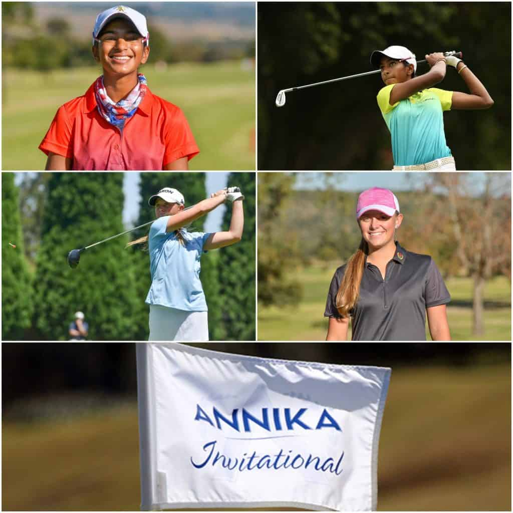Kaiyuree Moodley & Caitlyn Macnab will represent SA in the 2019 Annika Invitational USA; credit Ernest Blignault