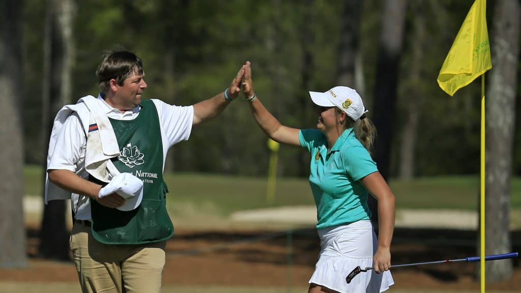 Telfer makes dream start in Augusta Amateur