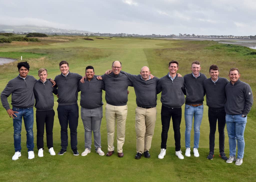 The GolfRSA Squad at the 2019 The Amateur Open Championship at Portmarnock Golf Club today (16/06/2019). Picture by Pat Cashman
