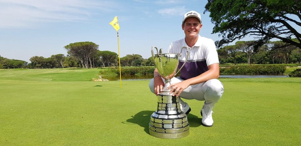2019 SA Amateur champion Wilco Nienaber' credit Gavin Withers