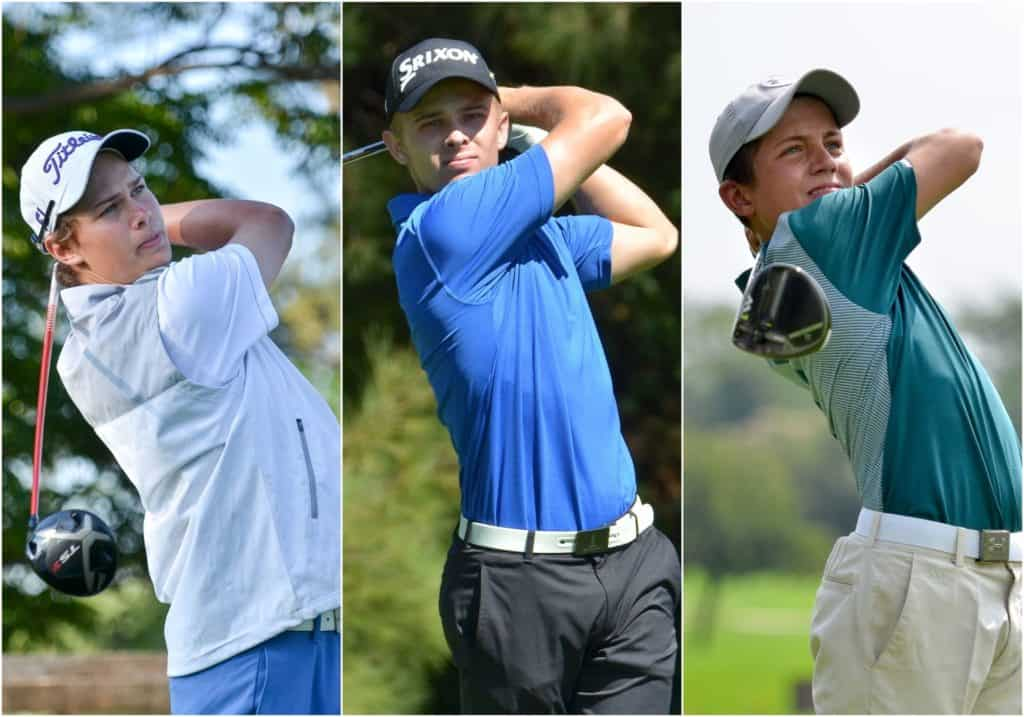 Tyran Snyders, Kyle de Beer and Christiaan Maas has been named to the 2019/2020 GolfRSA National Squad.