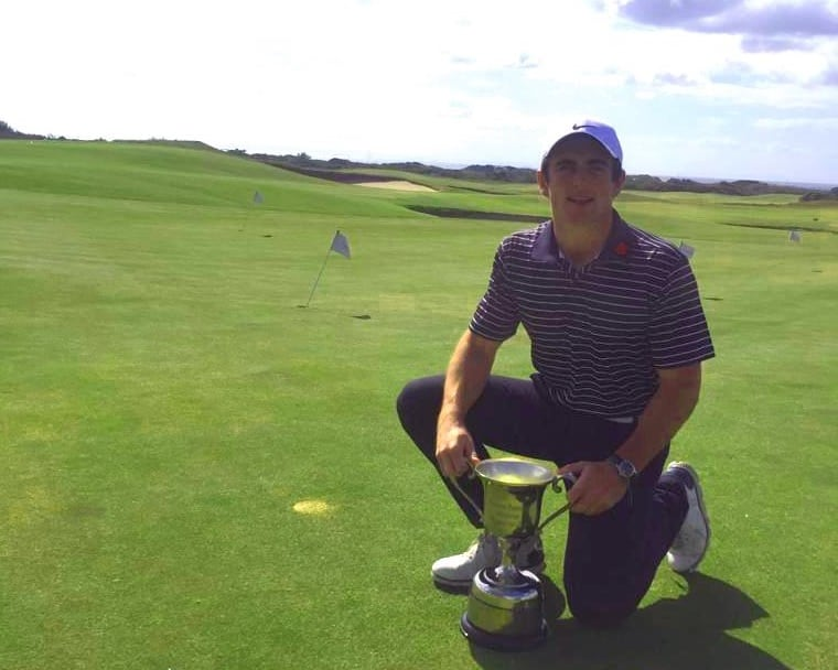 Pieter Zietsman with the Eastern Province Amateur