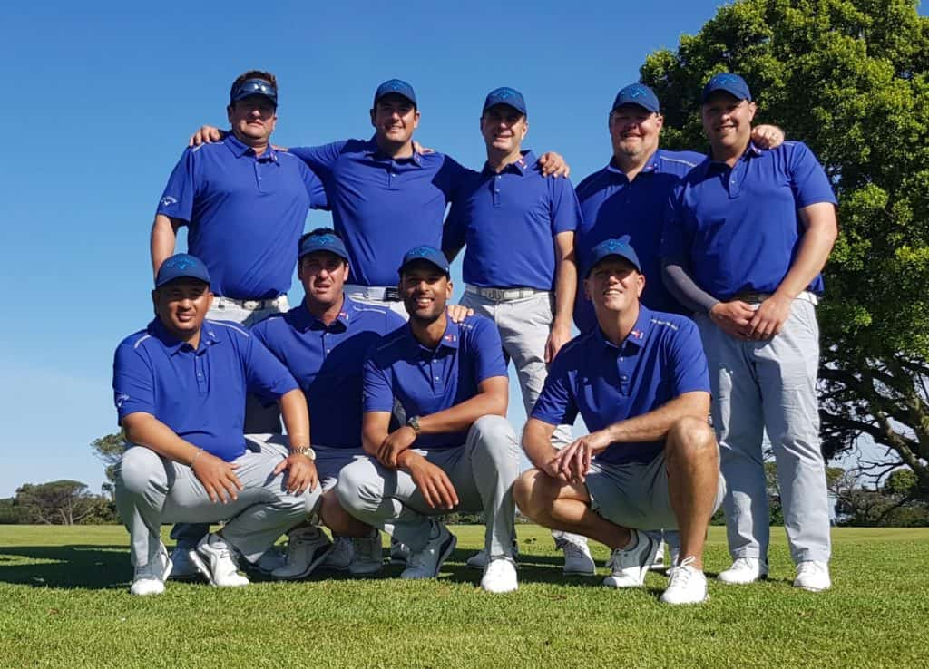 Western Province are one match away from scoring a second victory in the South African Mid-Amateur Inter-Provincial Tournament at King David Mowbray Golf Club; credit GolfRSA.