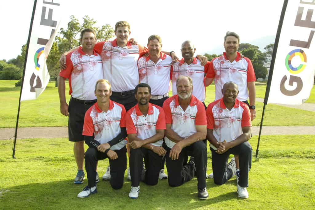 Eastern Province won the promotion battle in the South African Mid-Amateur Inter-Provincial Tournament with a clean sweep at King David Mowbray Golf Club; credit Withers & Son Photography.
