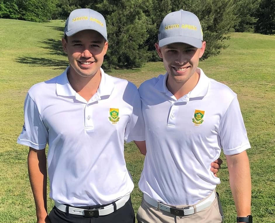 GolfRSA Proteas Luca Filippi and Kyle de Beer closed off their two-week campaign in Buenos Aires with top 20 finishes in the Argentine Amateur Stroke Play Championship at Estancias Golf Club; credit GolfRSA.