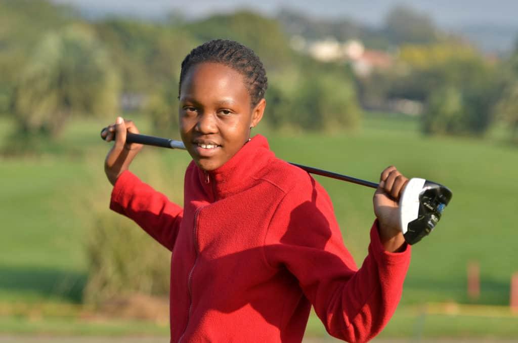 South African Golf Development Board member and GolfRSA Talent Identification Squad rising star Teboho Lefifi