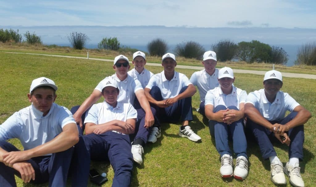 Unbeaten Ekurhuleni can afford to relax! The defending champions remain on track for South African Under-19 Inter-Provincial hat-trick at Oubaai Hotel, Golf and Spa; credit GolfRSA.