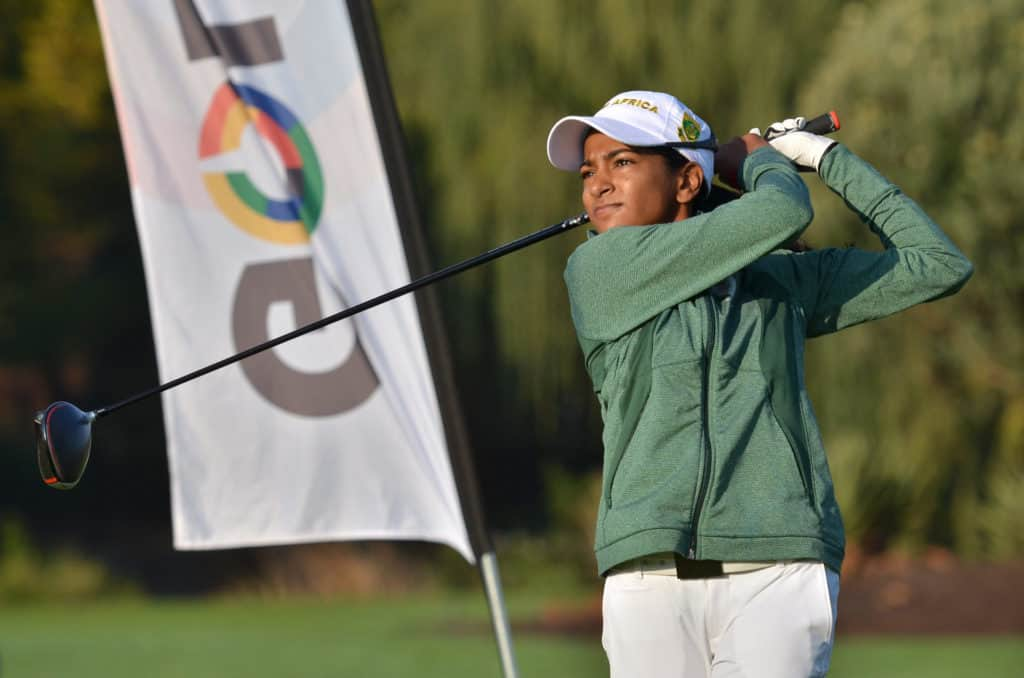 Former South African Youth Olympian Kaiyuree Moodley will represent 10-time Major Champion Annika Sörenstam in the 2020 Major Champions Invitational at Lookout Mountain Golf Club in Phoenix, Arizona from 25-31 January; credit Ernest Blignault.