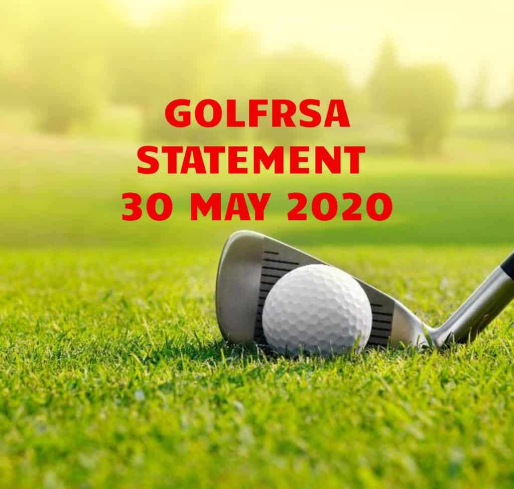 2020GolfRSAStatement_30May