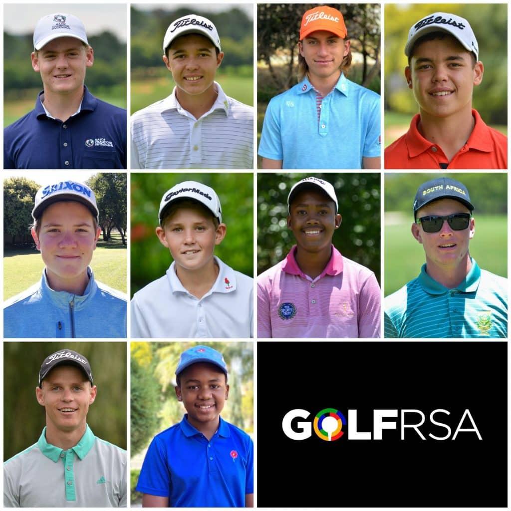2020 GolfRSA National Squad - New Caps
