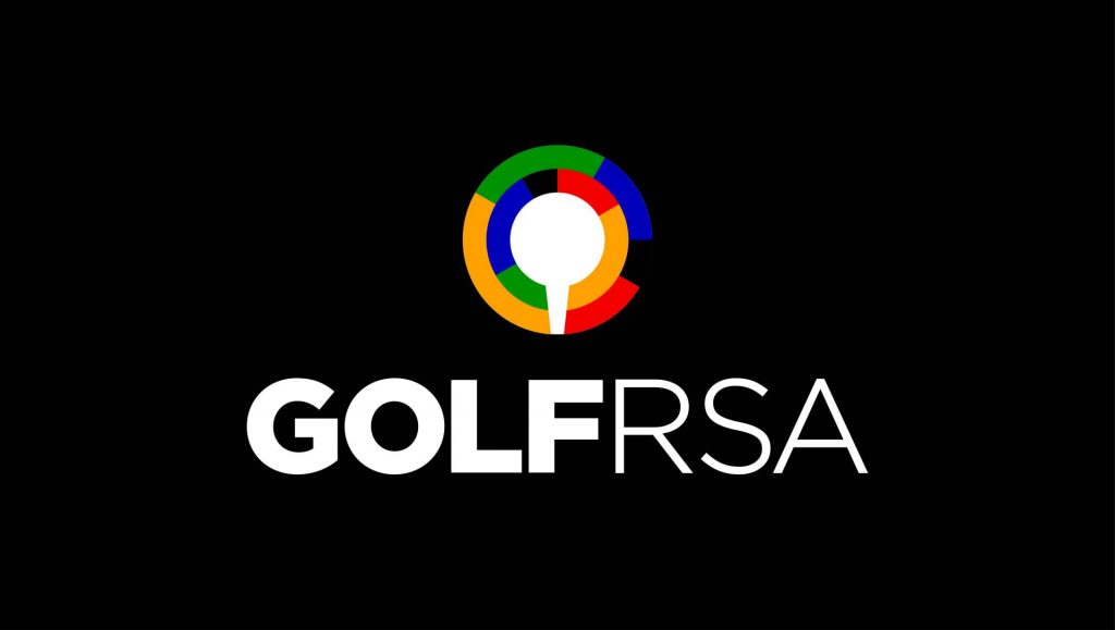 3A GOLF RSA tertiary logo A on black