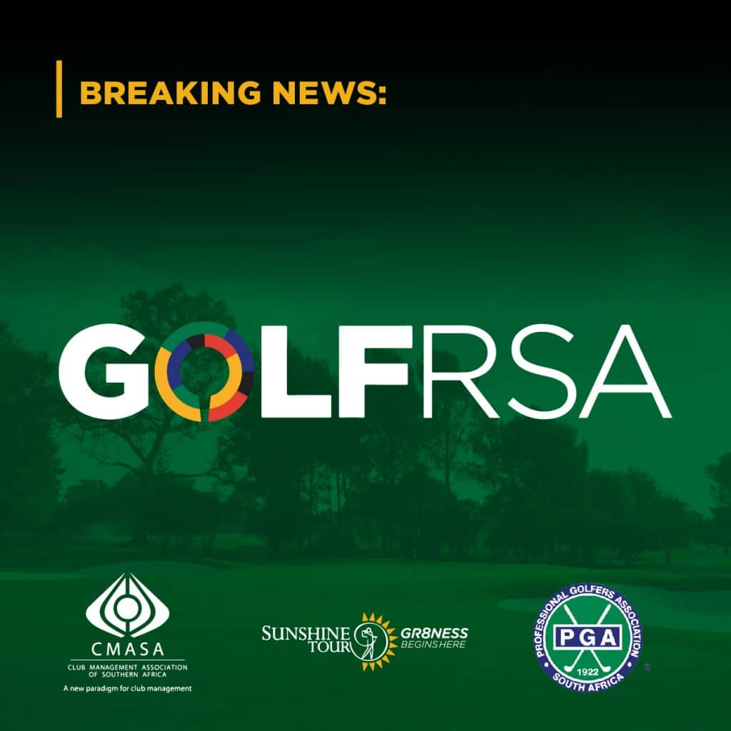 GolfRSA and the Golf bodies welcome the efforts of the Department of Sports, Arts and Culture that have allowed for the safe return of Golf.