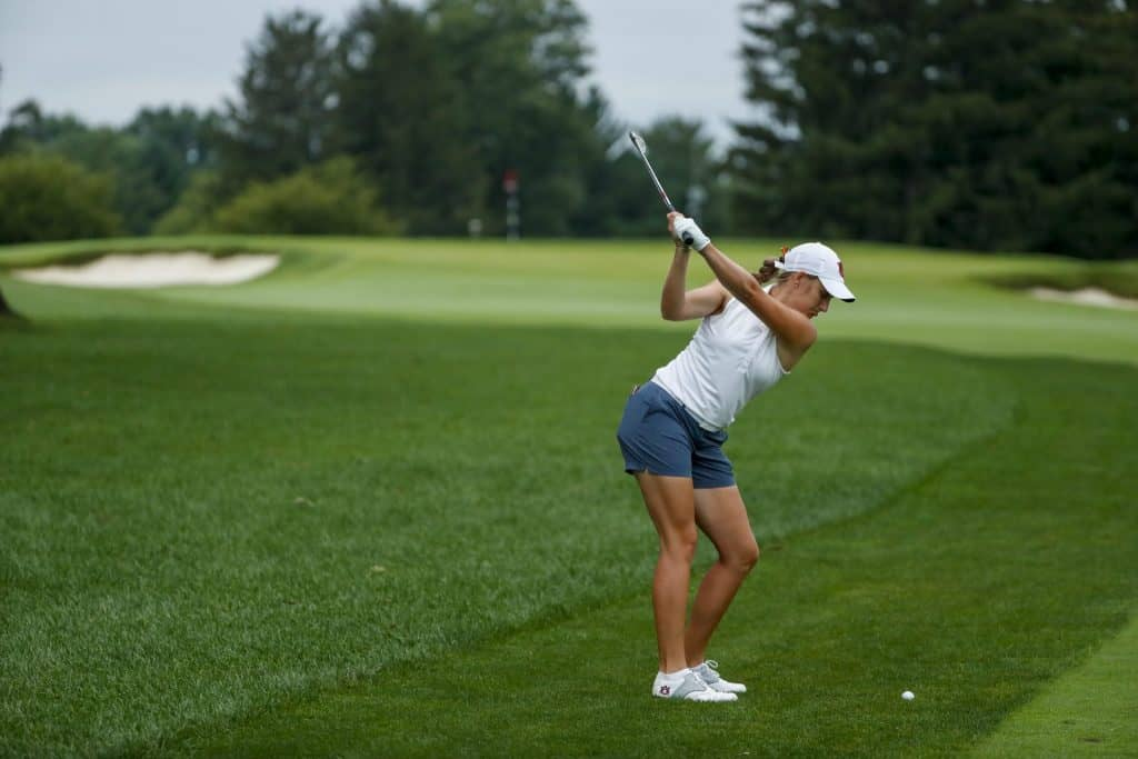 South Africa's Kaleigh Telfer reached the quarter-finals in her first U.S. Women's Amateur Championship start; credit USGA.
