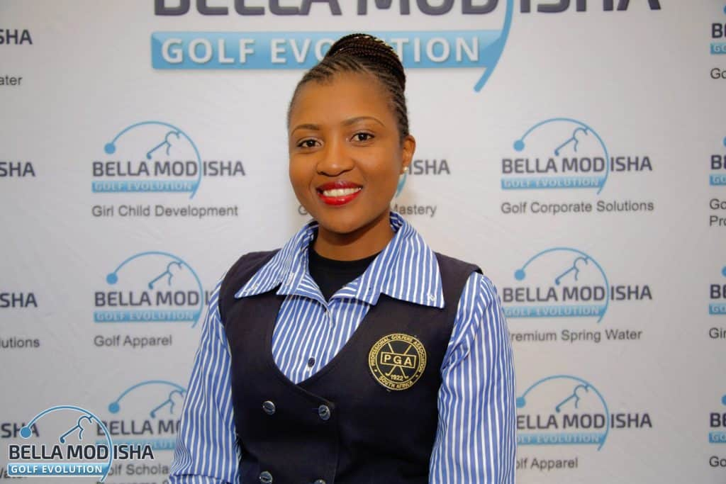 SAGDB graduate Bella Modisha became the 1st black woman to successfully qualify as a PGA professional via the PGA of SA's Pathway to Membership programme.