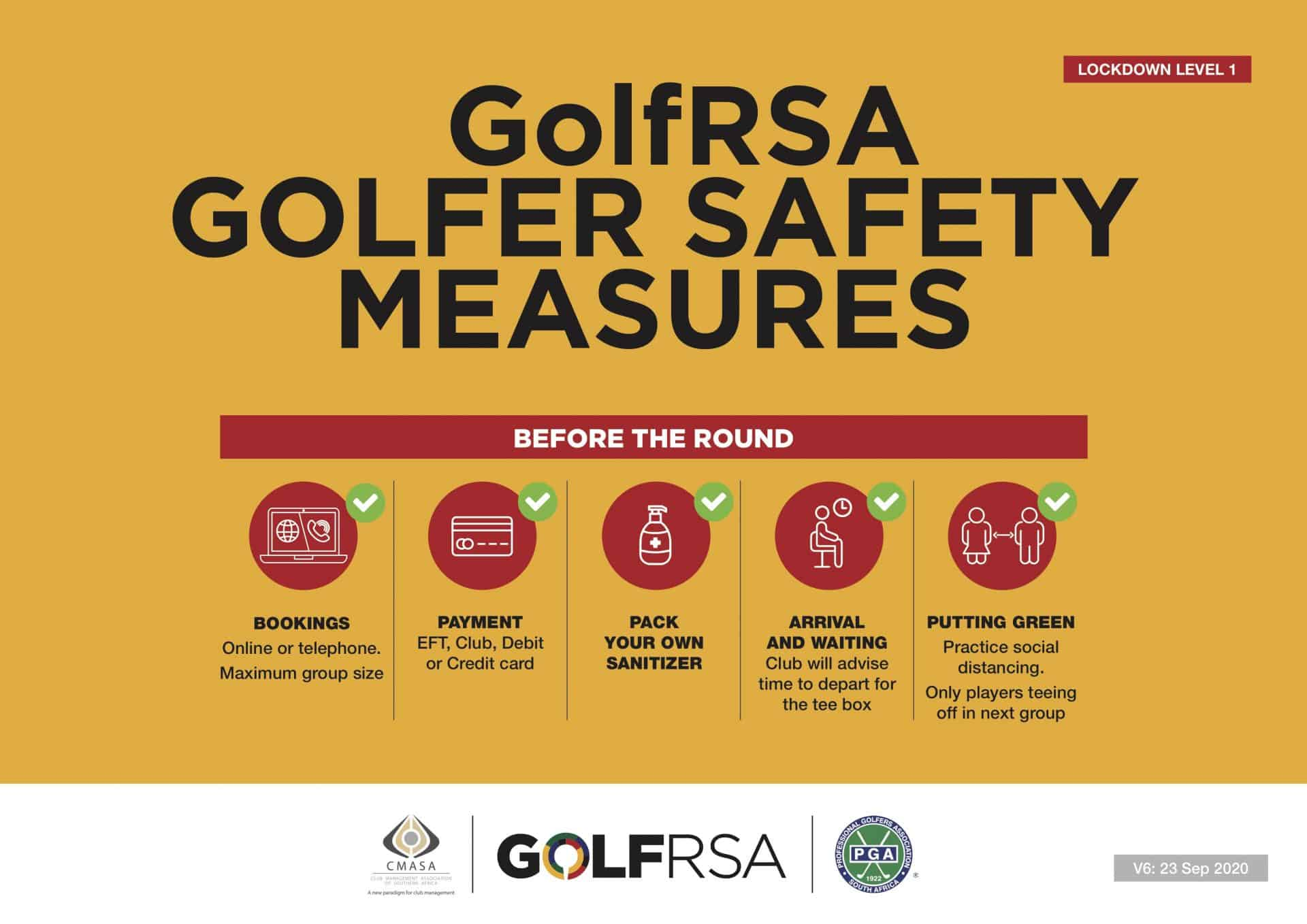 GolfRSA Safety Measures V6 -1