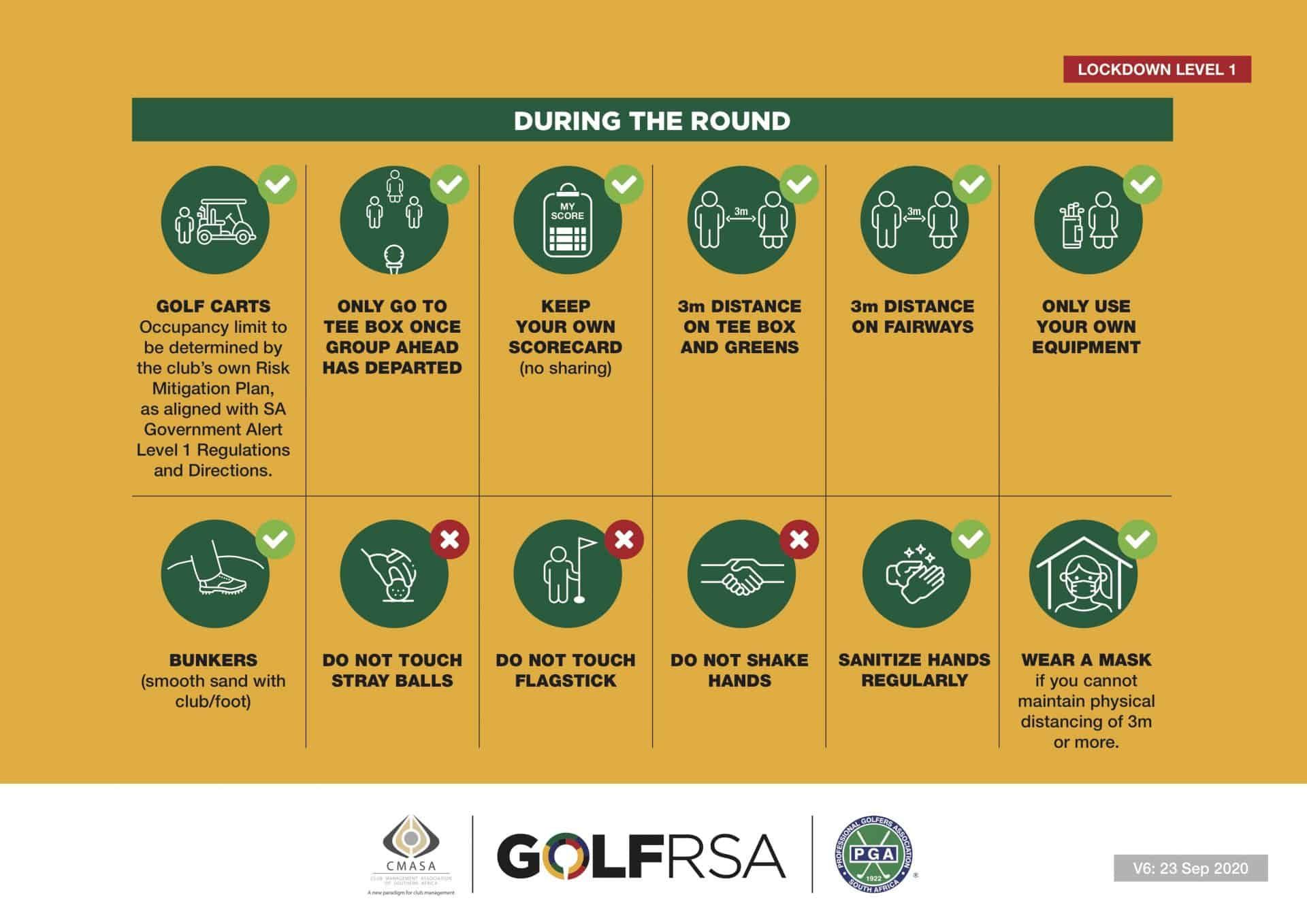 GolfRSA Safety Measures V6 -2