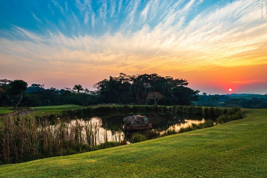 The magnificent Selborne Park Golf Estate on the KwaZulu-Natal South Coast will host the first two Nomads National tournaments in the 2021 season from 4-8 January; credit Selborne Golf Estate.