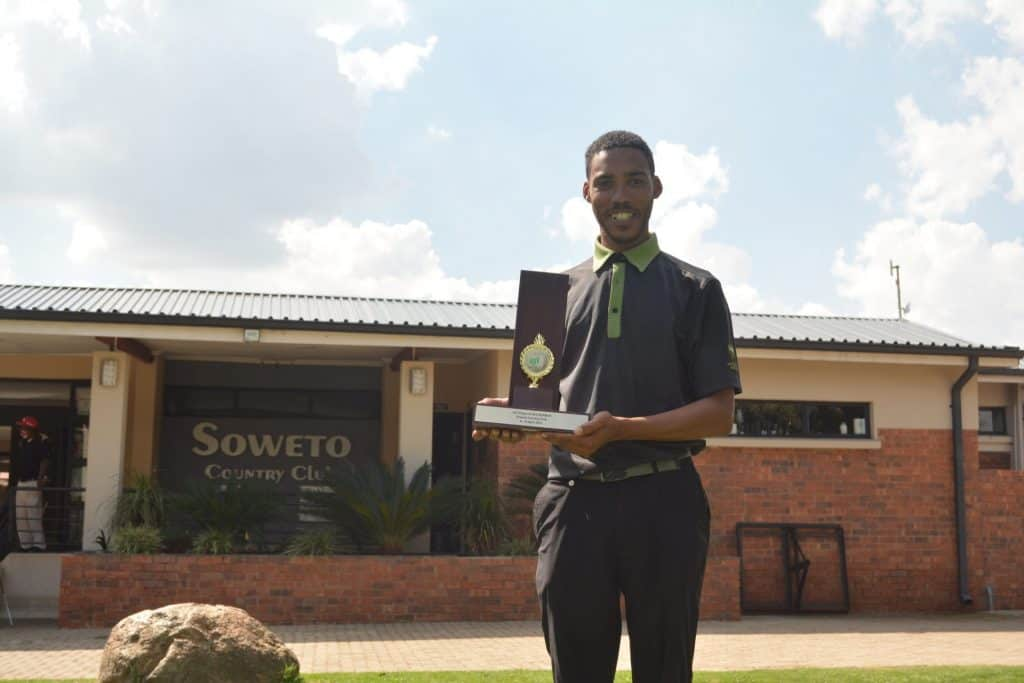 Former GolfRSA National Squad member & SAGDB graduate finally conquered Soweto to win the Big Easy IGT Tour Chase To #22; credit IGT Challenge Tour.