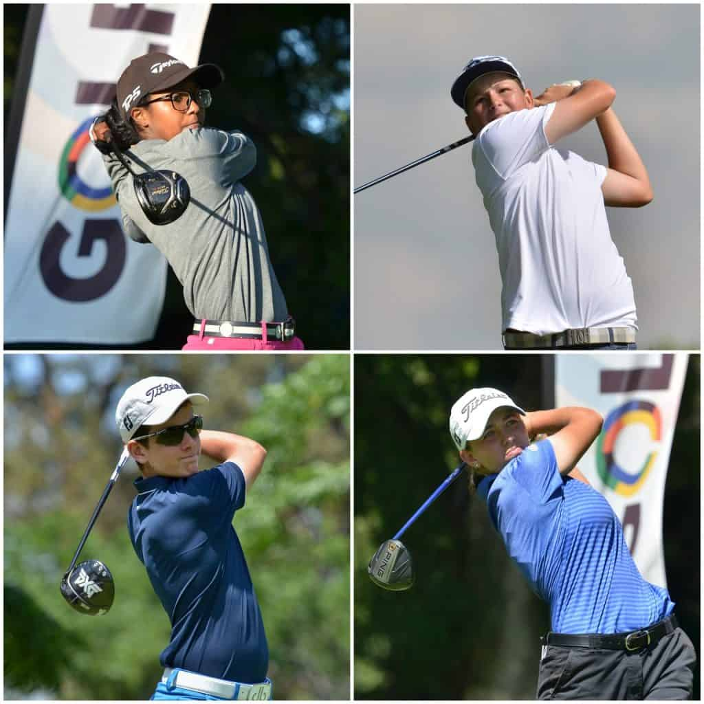 Four new faces joined the 2021 GolfRSA joined the men's and women's National Squads