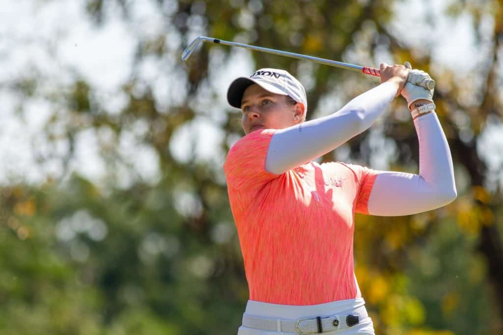 Casandra Hall is targeting her maiden Ladies European Tour victory in the 2021 Investec South African Women's Open at Westlake Golf Club; credit Shannon Naidoo.